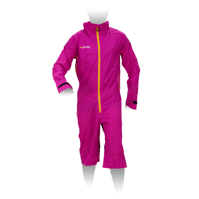 dirtlej dirtsuit light edition pink / yellow
