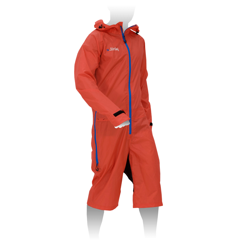 dirtlej dirtsuit light edition orange red / blue